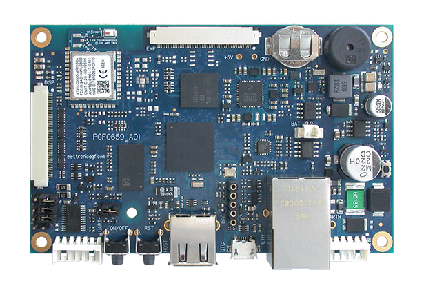 3SB2000 series NXP i.MX6ULL Ultra Low Cost Single Board Computer