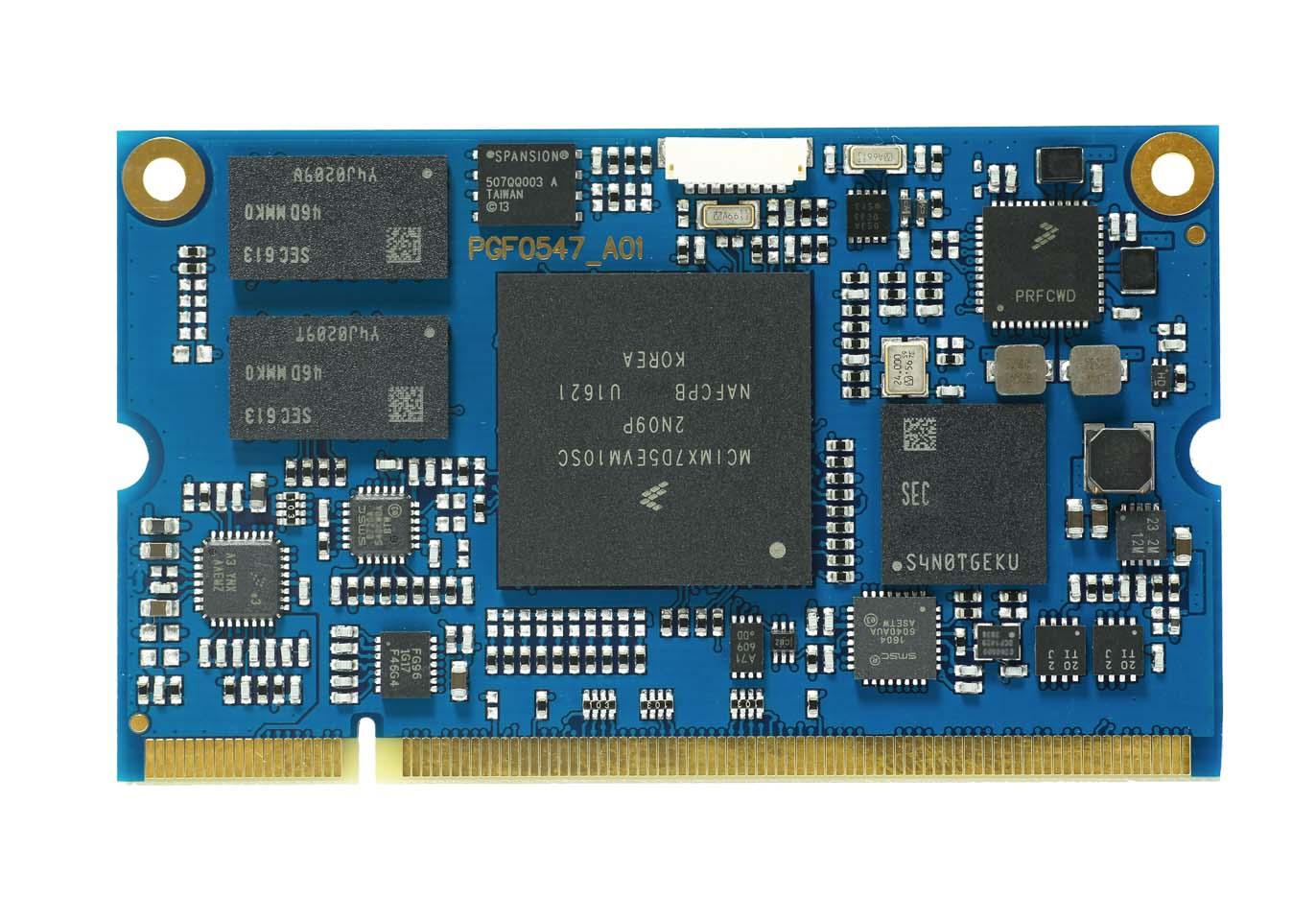 3SM1006 SoM NXP i.MX7 Dual