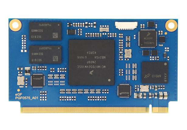 SOM NXP i.MX7 Solo/Dual ARM® Cortex®-A7 CPU
